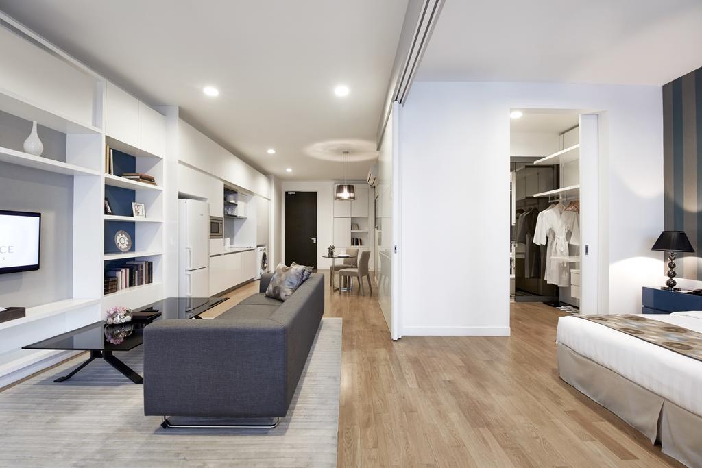 Однокомнатная квартира 40 кв м с гардеробной