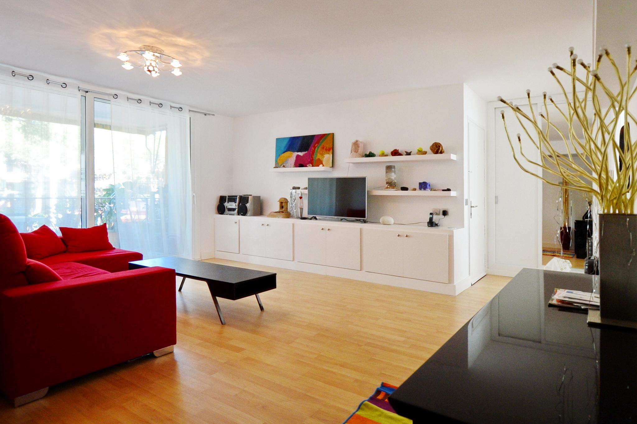 Однокомнатная квартира 40 кв м интерьер гостиной