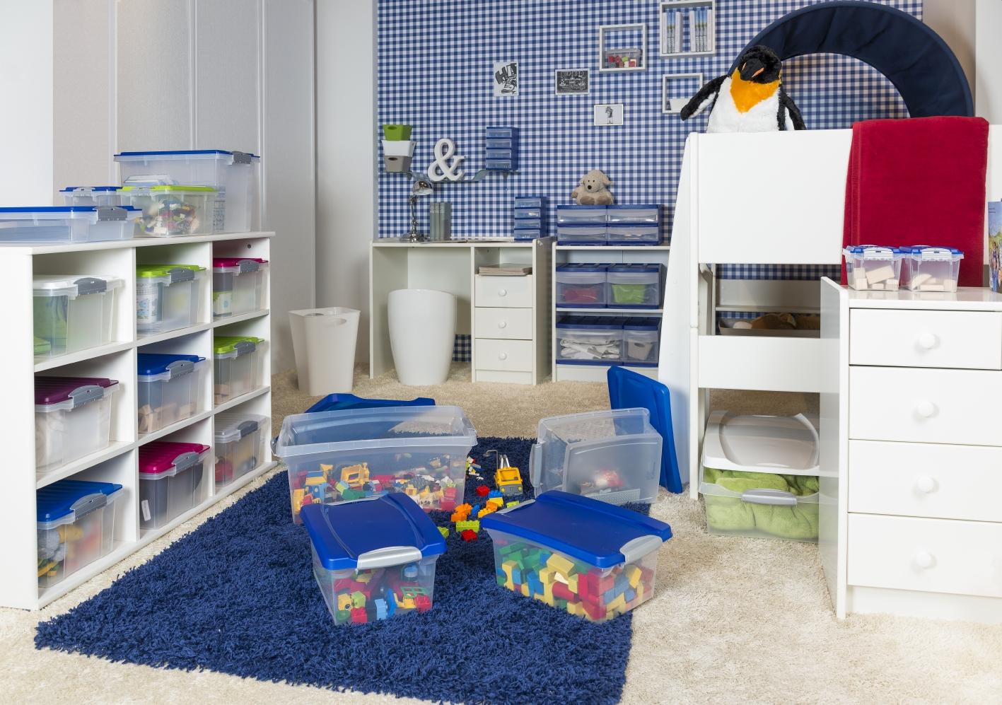Планировка детской хранение игрушек