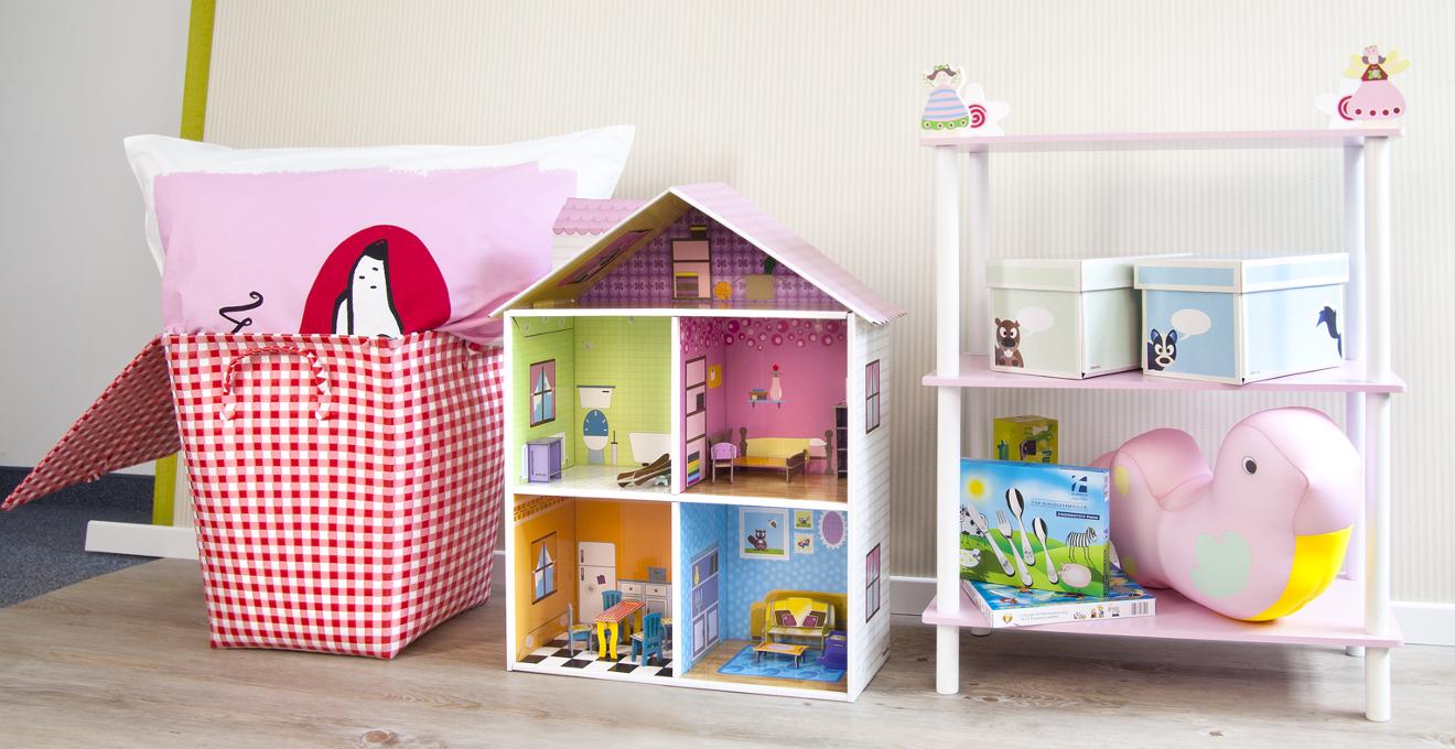 Планировка детской с системой хранения