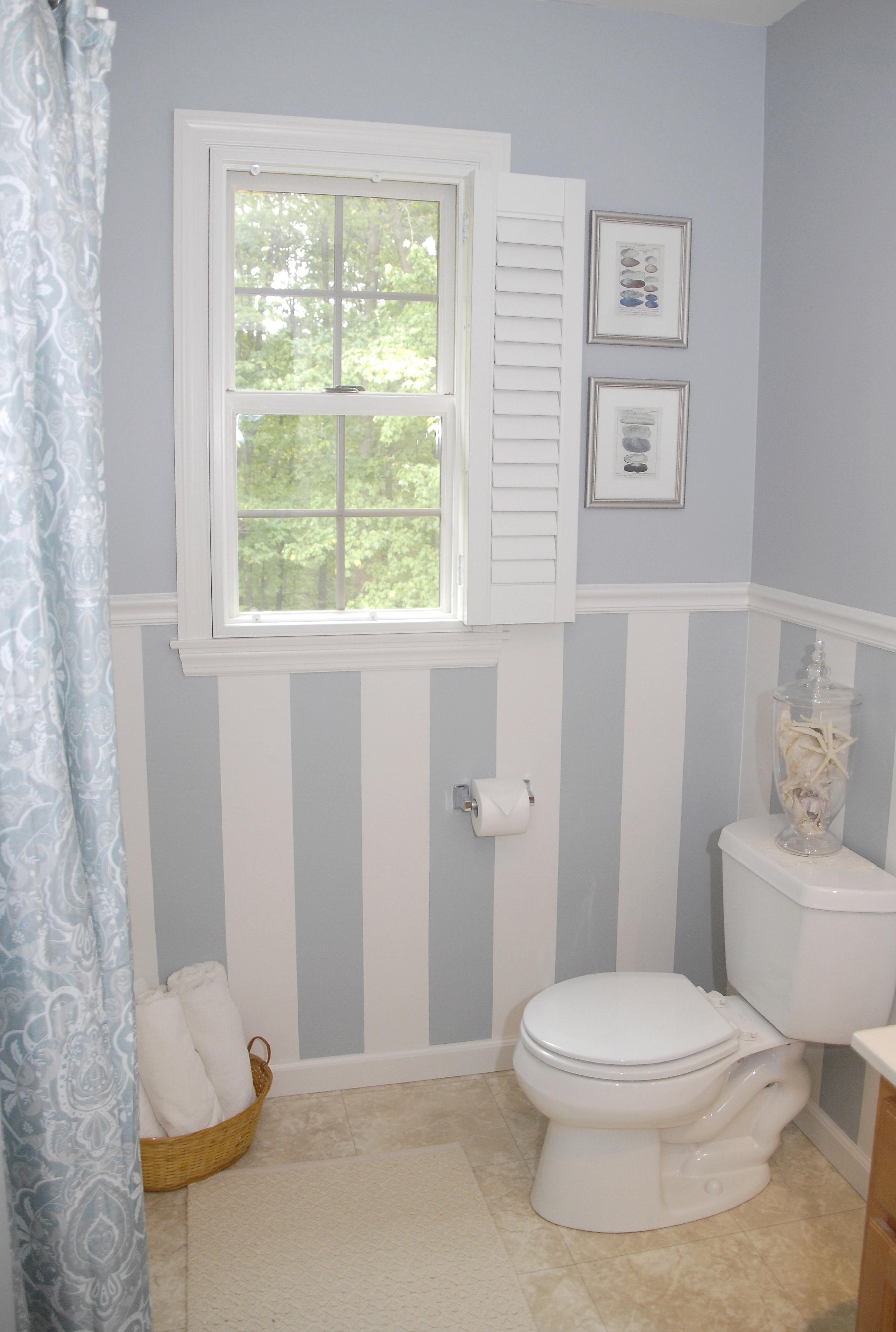 Ремонт туалета панелями комбинированными
