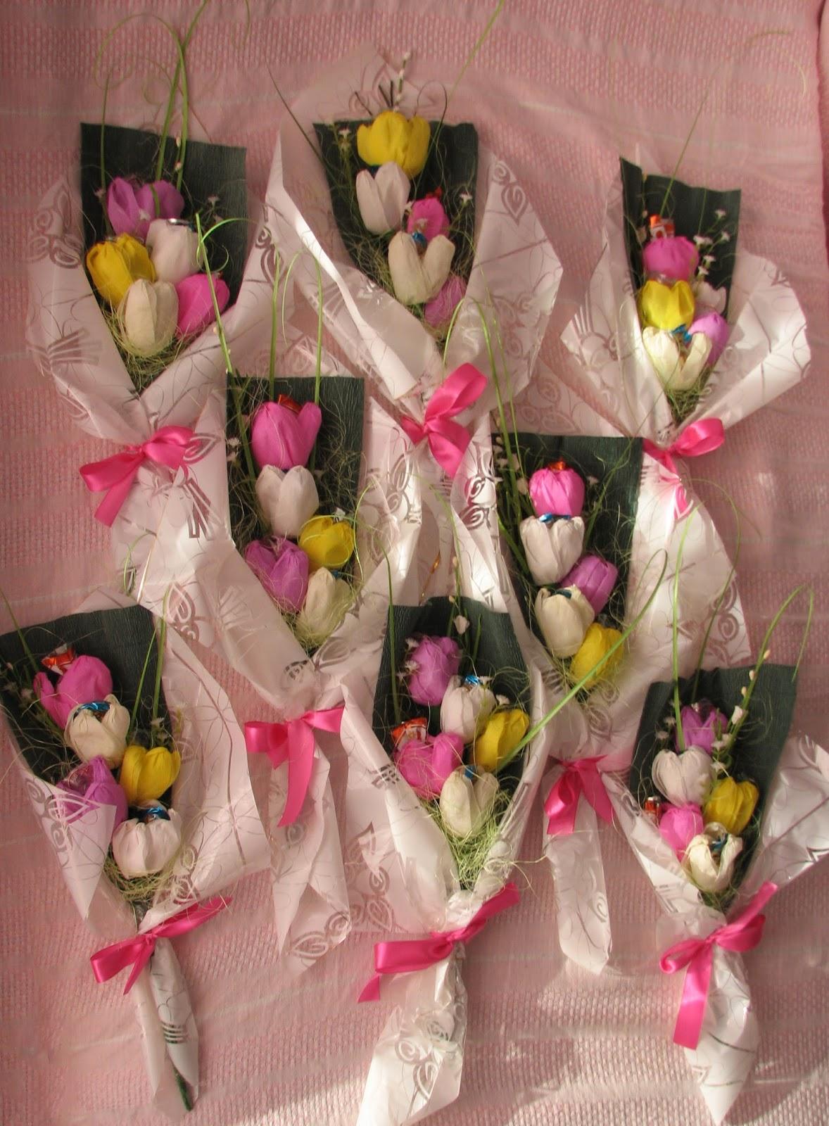 Подарок на 8 марта своими руками букет из конфет
