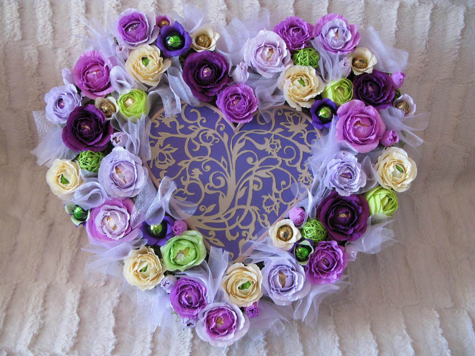 Подарок на 8 марта своими руками конфетный