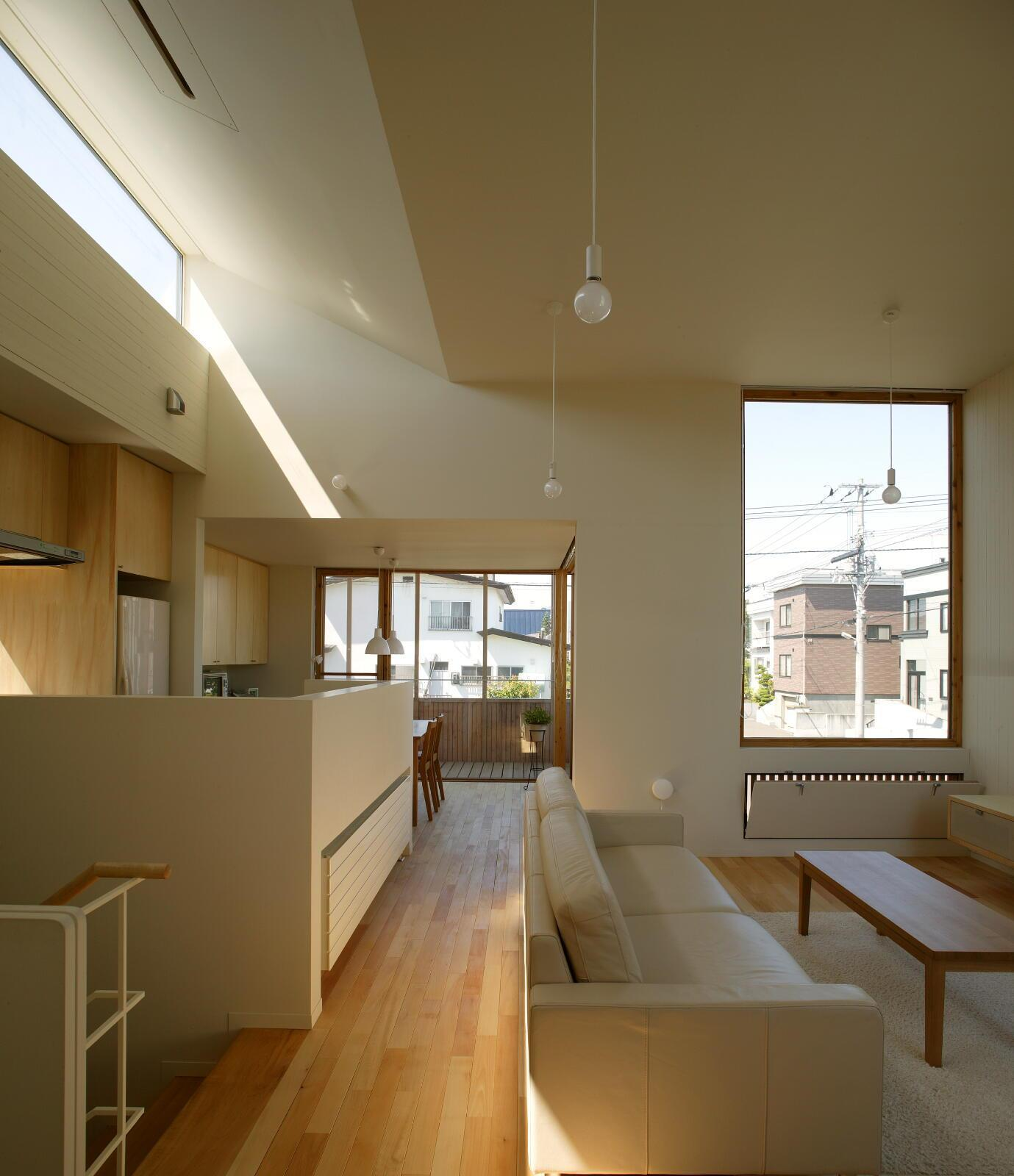 Идеи зонирования конструкциями в доме