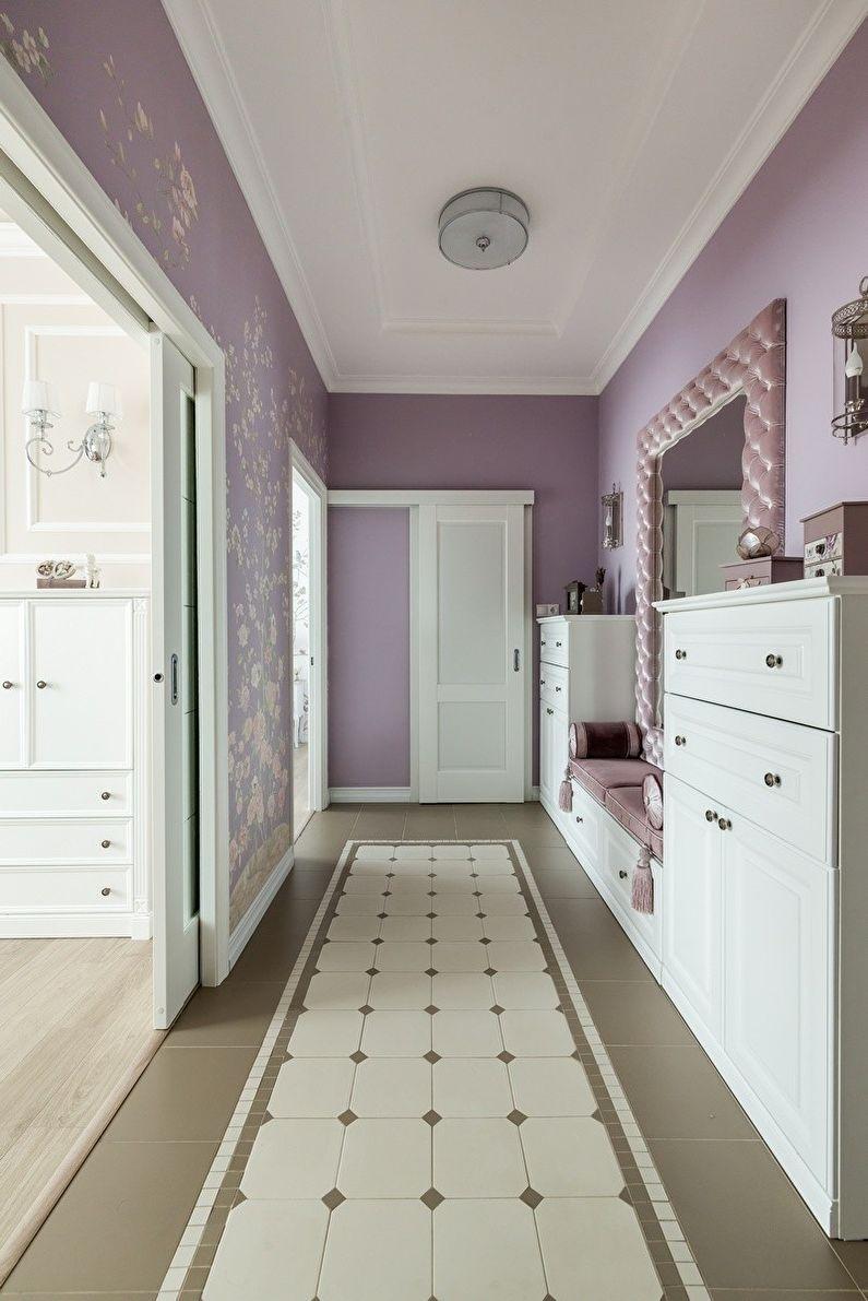 Однокомнатная хрущевка коридор