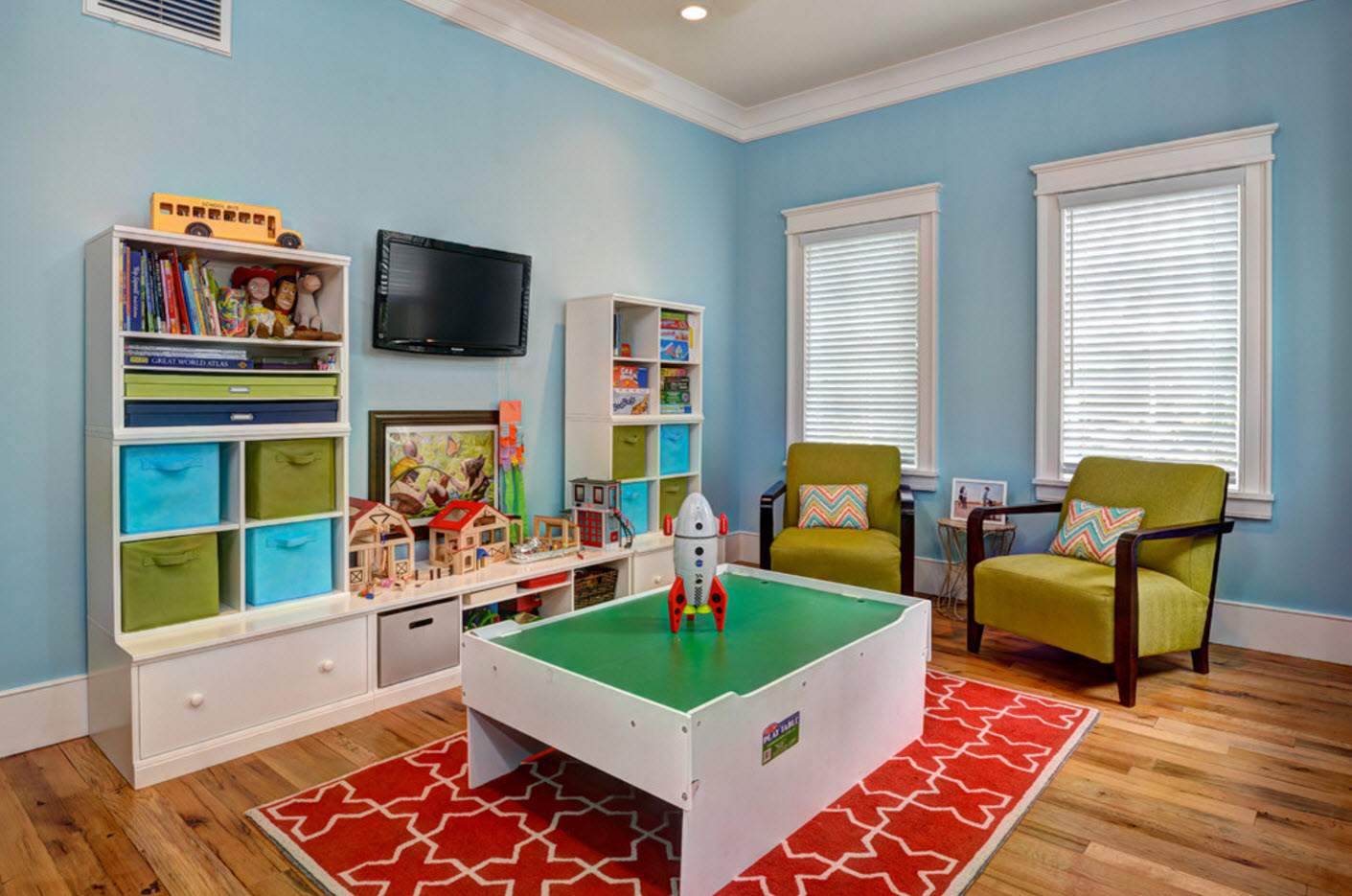 Декор детской комнаты в космической тематике