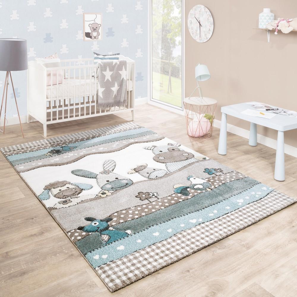Планировка детской с ковром