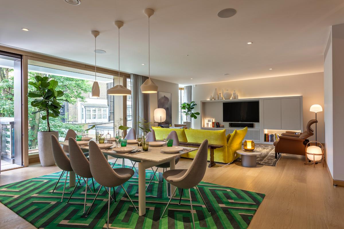 Однокомнатная квартира 40 кв м с ковром