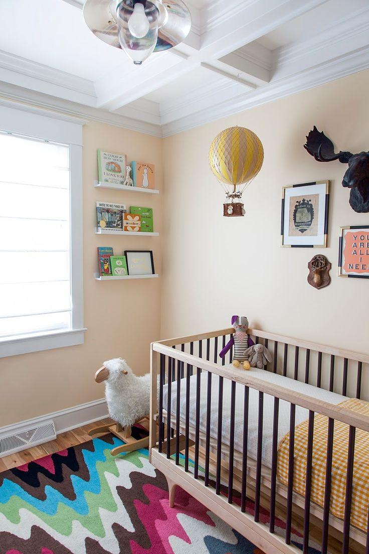 Планировка детской с крашенными стенами