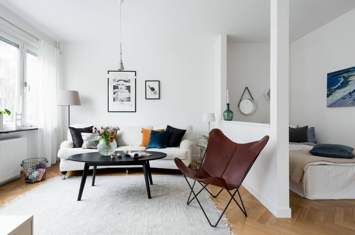 Идеи зонирования кровати в квартире
