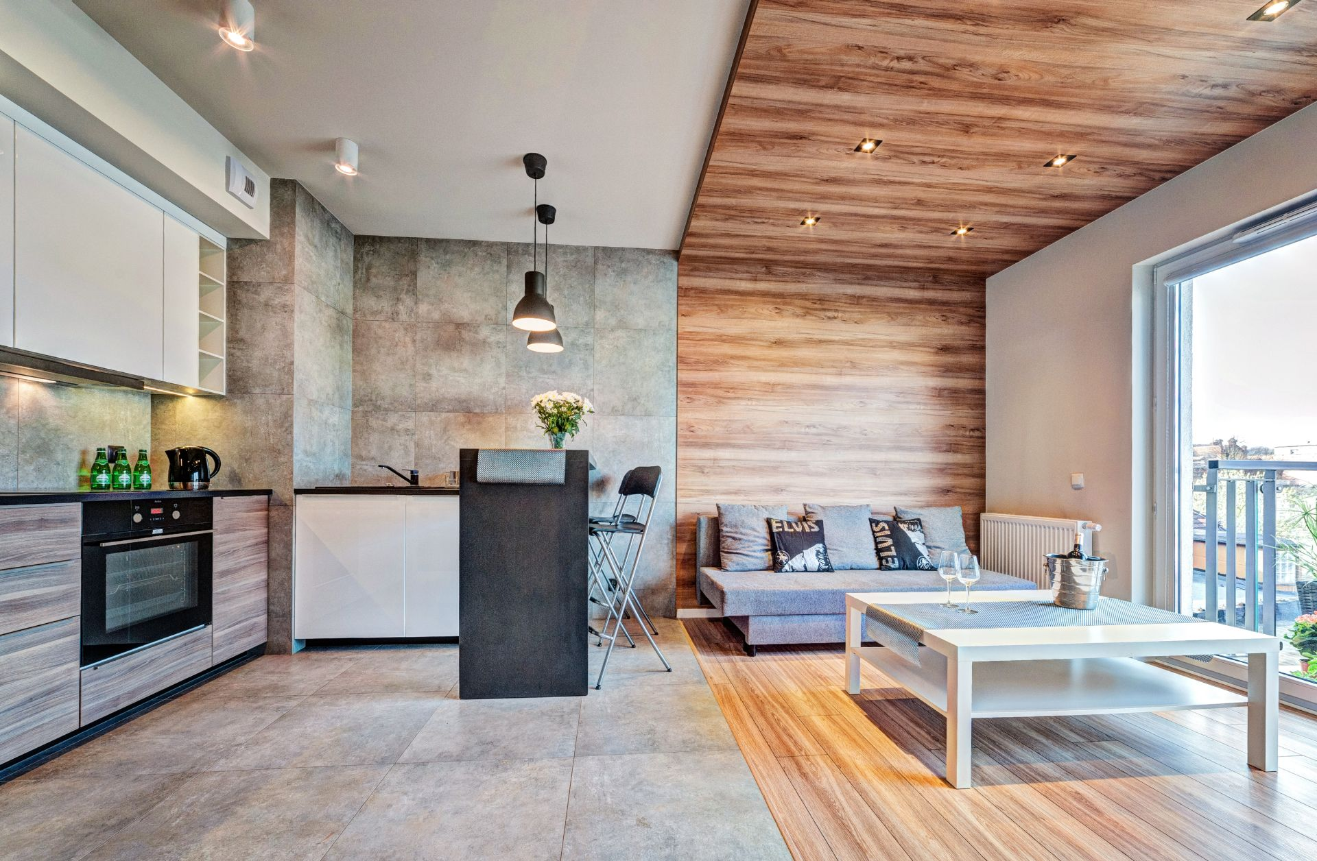 Однокомнатная квартира 40 кв м в лаконичном дизайне
