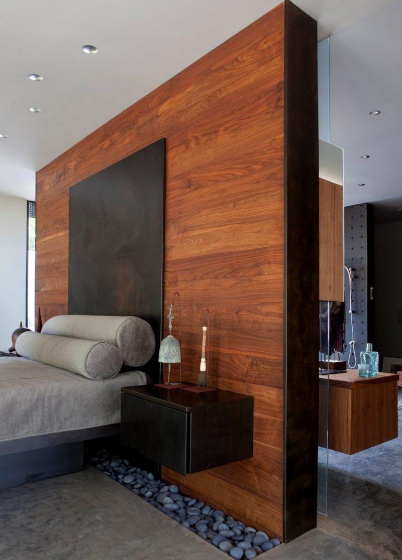 Идеи зонирования в спальной комнате