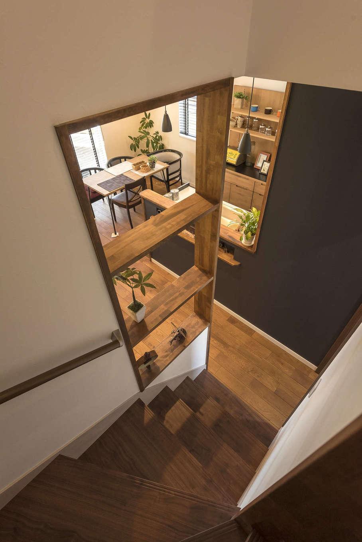 Идеи зонирования лестницы