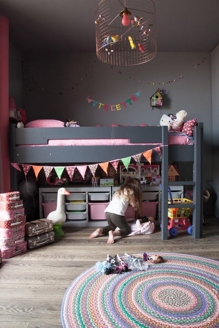 Декор люстры детской комнаты