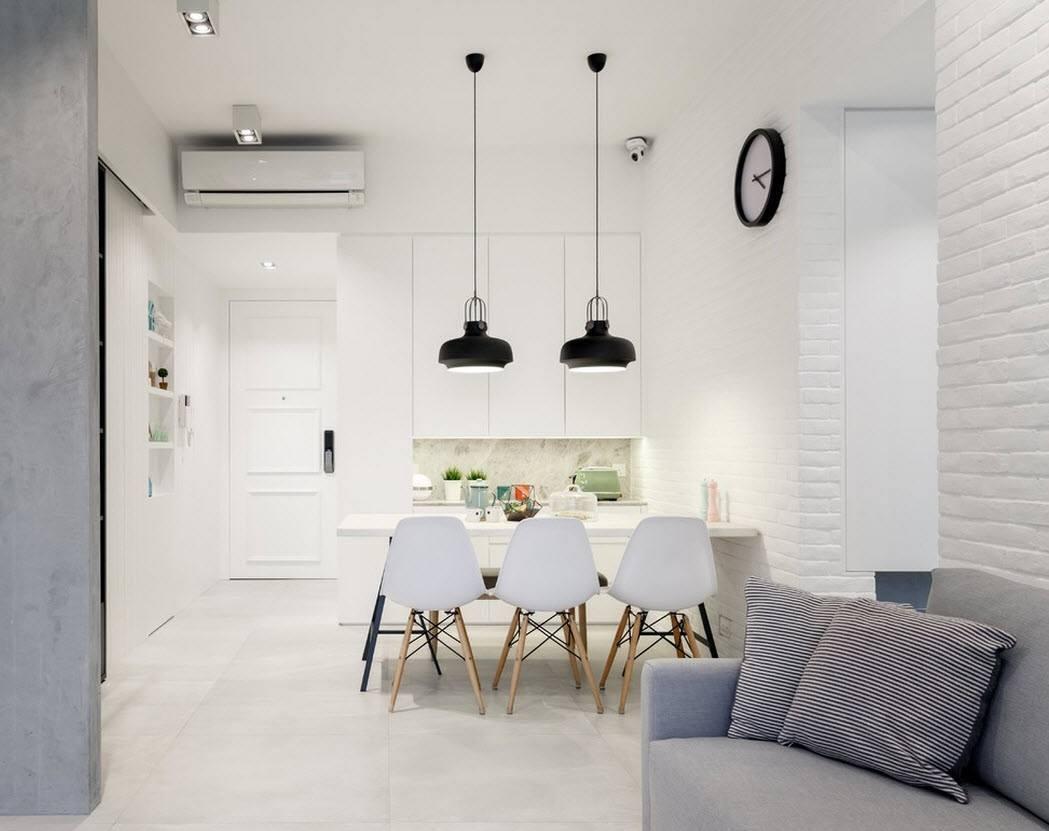 Дизайн кухни гостиной маленькой