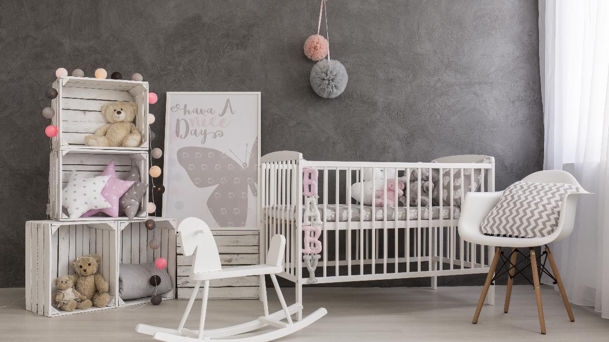 Декор детской комнаты с мебелью