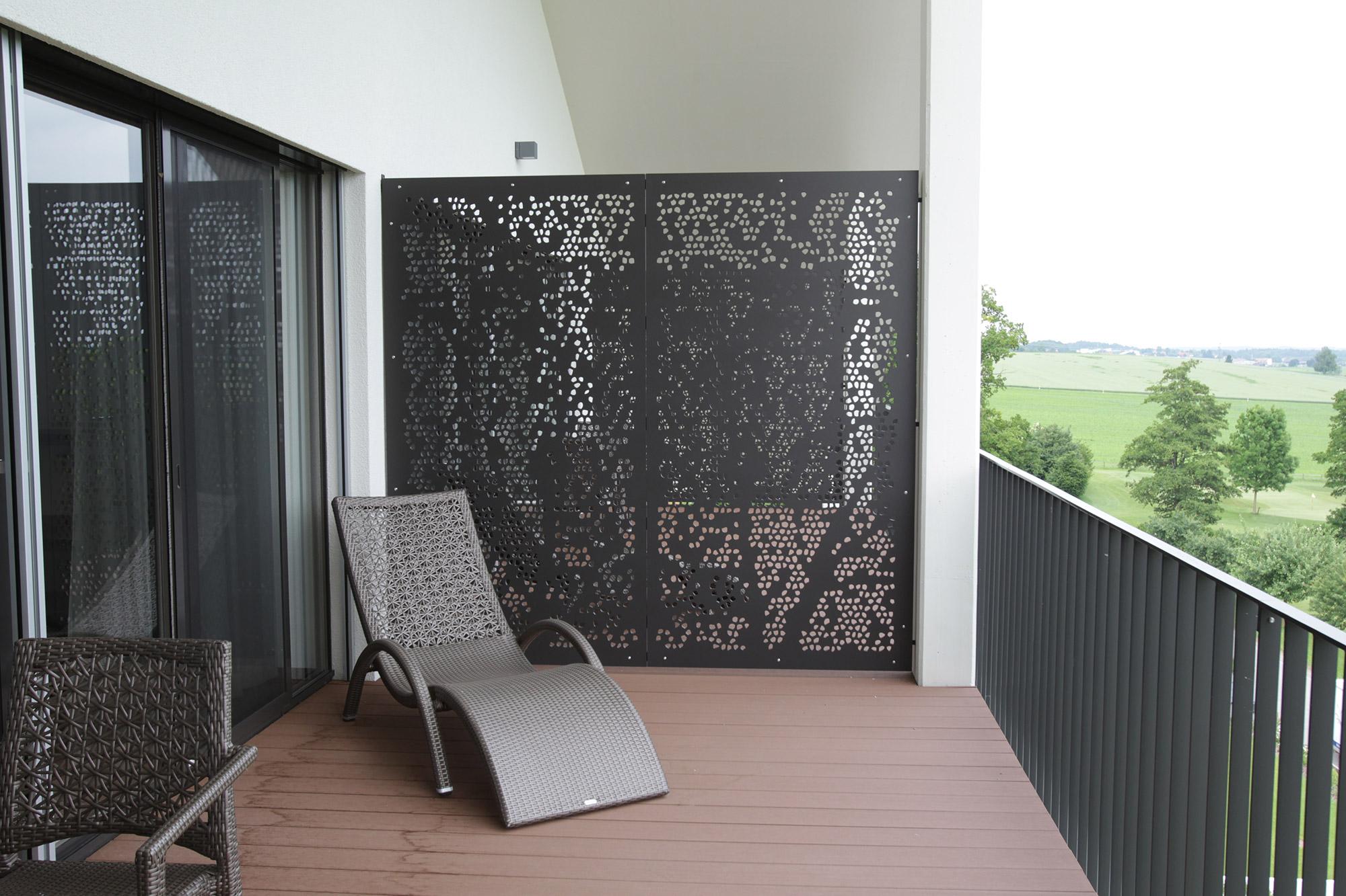 Идеи зонирования на балконе