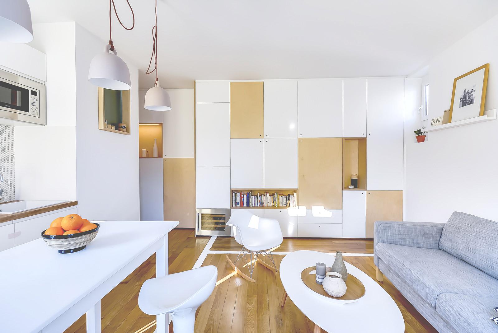 Однокомнатная квартира 40 кв м с модульной мебелью