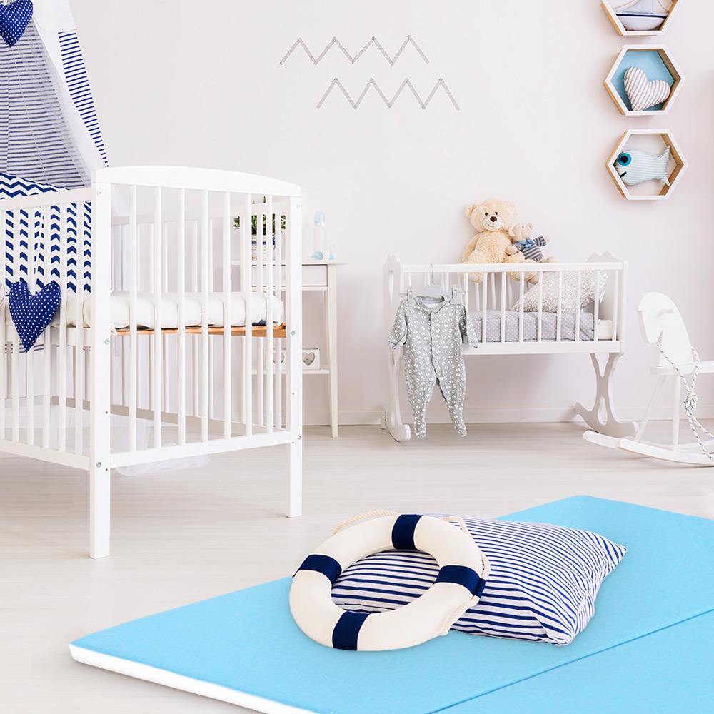 Декор детской комнаты в морском стиле