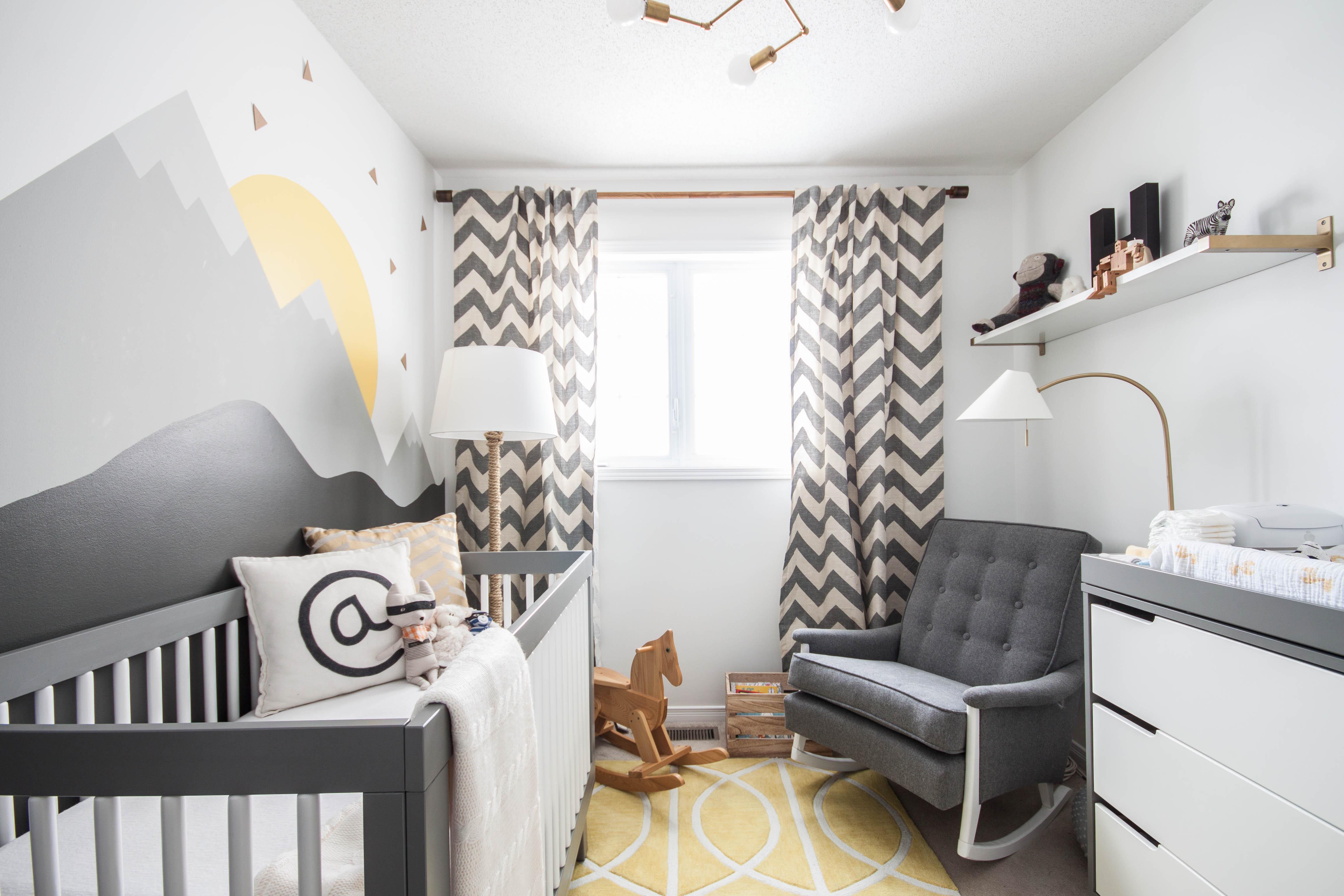 Декор детской комнаты небольшой