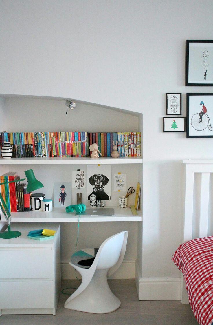 Декор детской комнаты с нишей