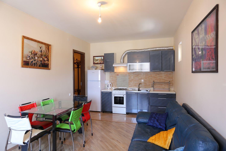 Дизайн кухни гостиной в однокомнатной квартире