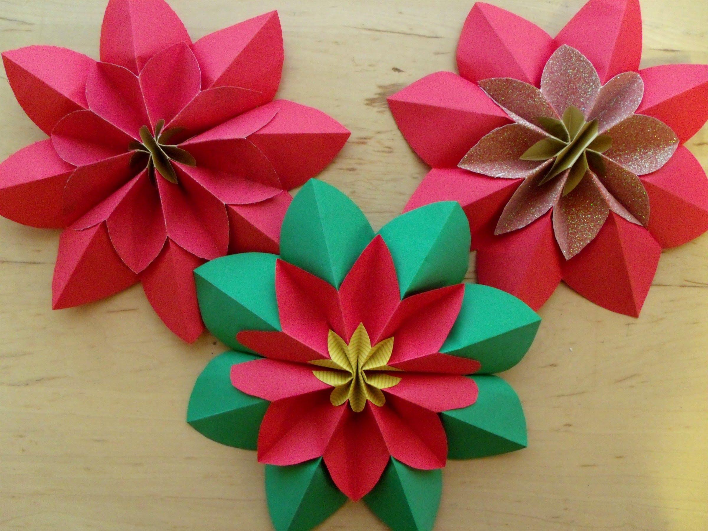Поделки на 8 марта оригами