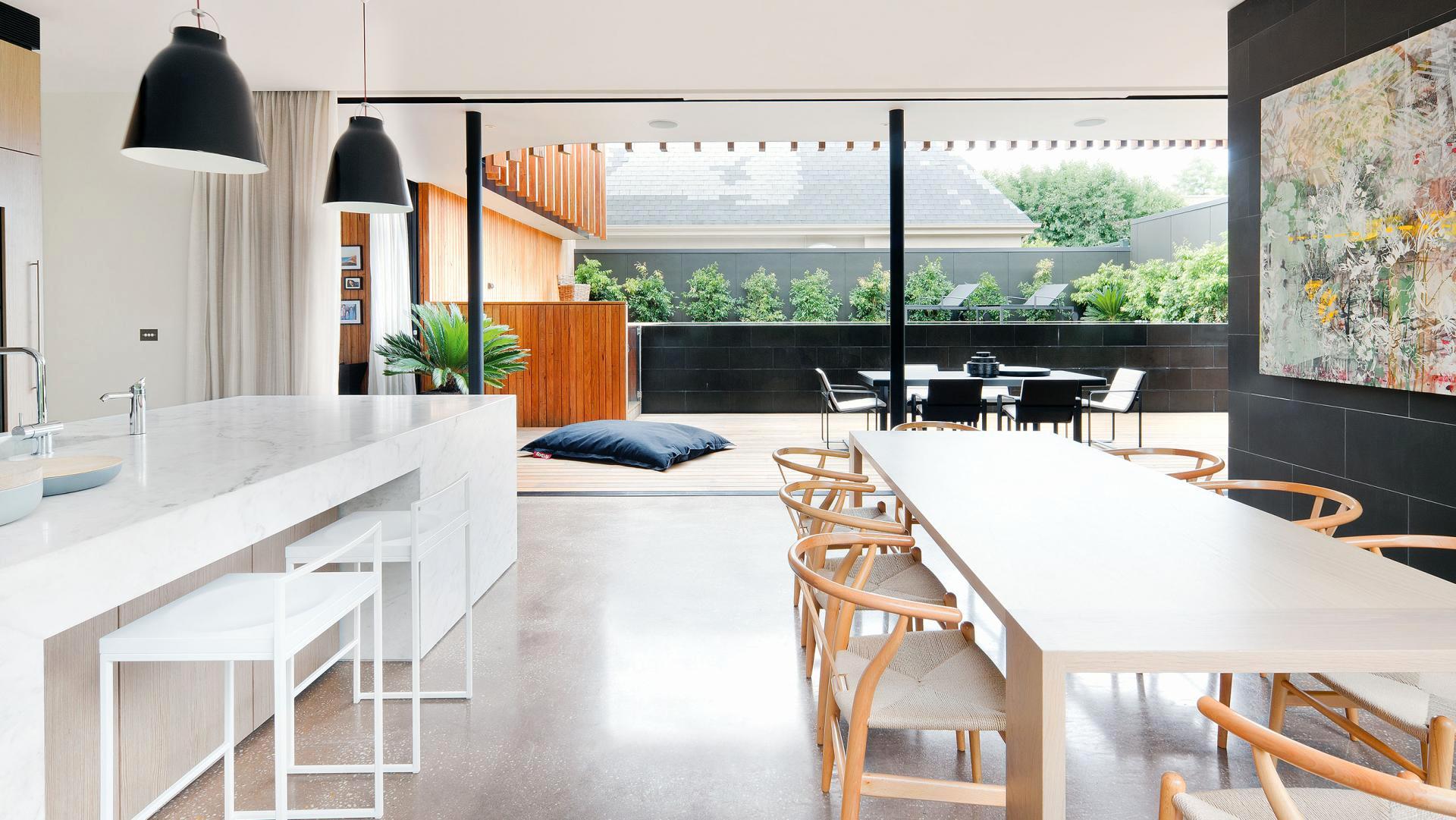 Дизайн кухни гостиной открытой