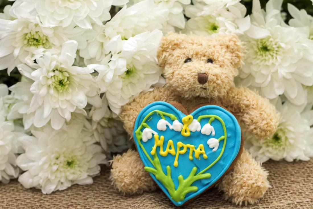 Подарок на 8 марта своими руками печенье