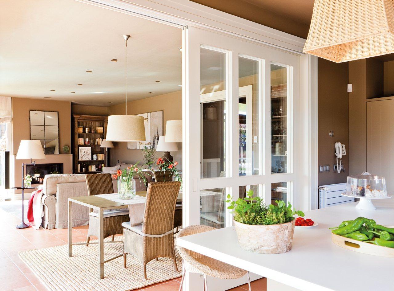Дизайн кухни гостиной с перегородкой