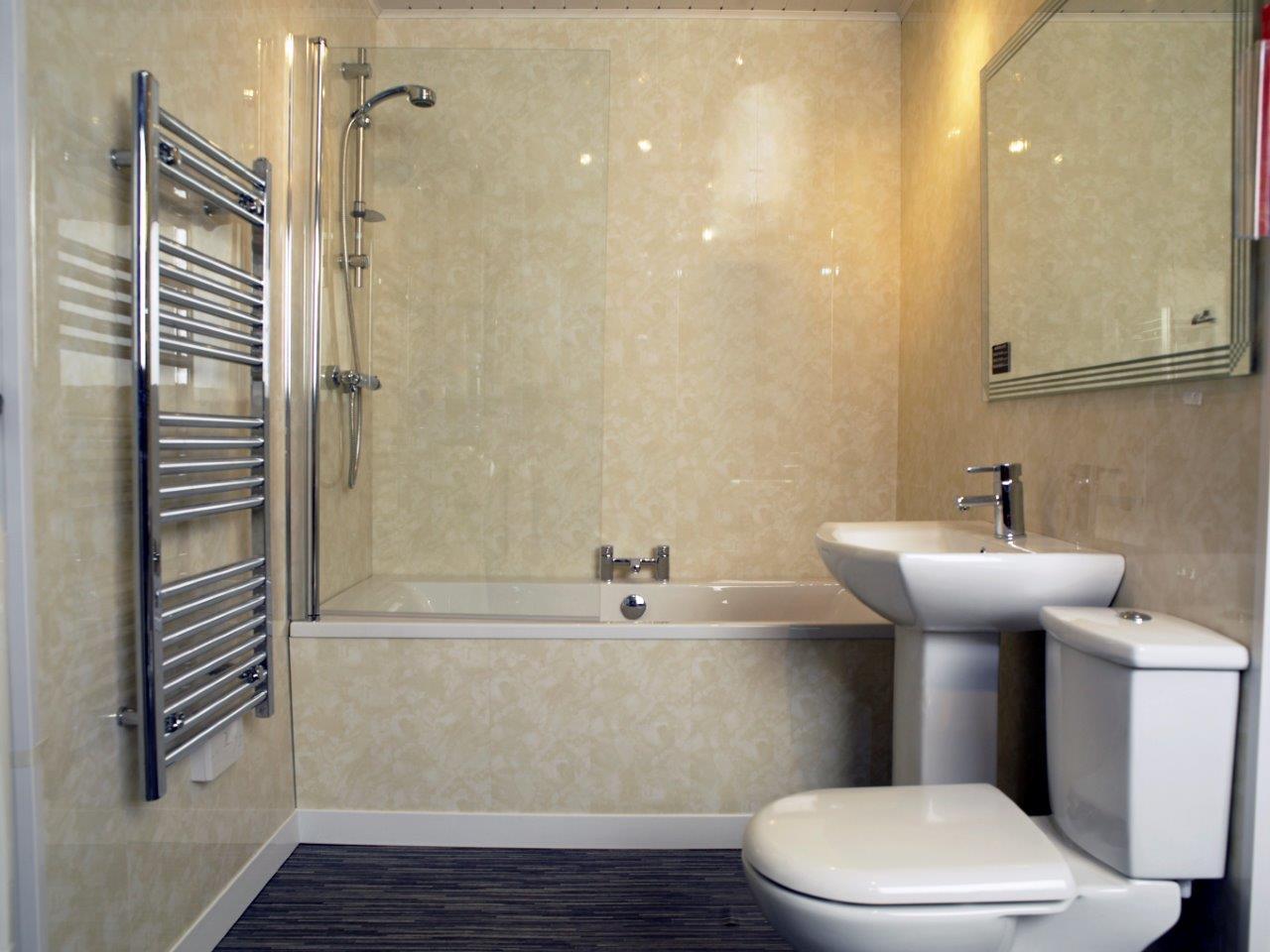 Ремонт туалета панелями пластиковыми