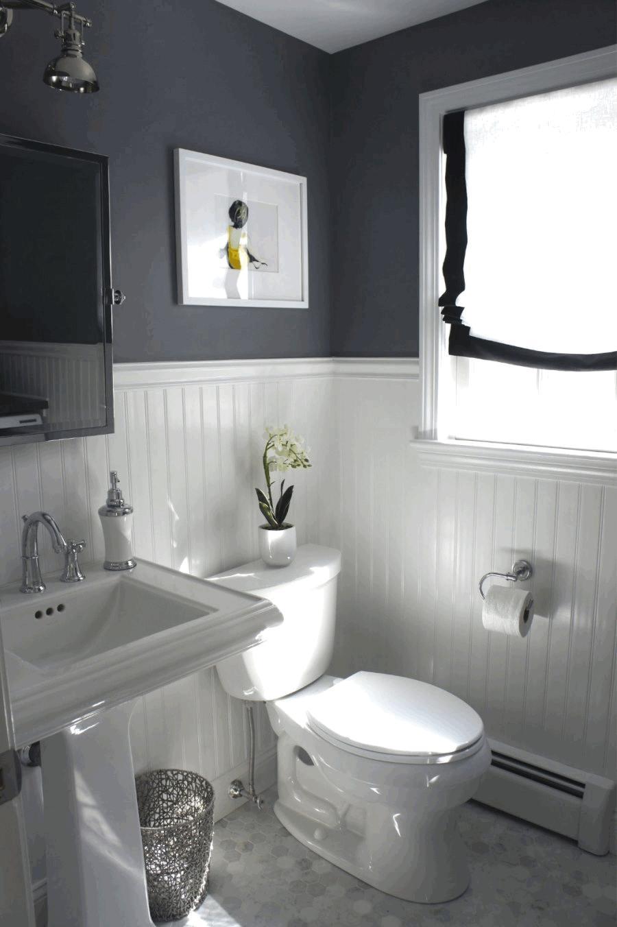 Ремонт туалета панелями из пластика