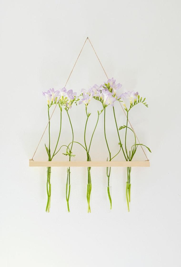Подарок на 8 марта своими руками подвесные цветы