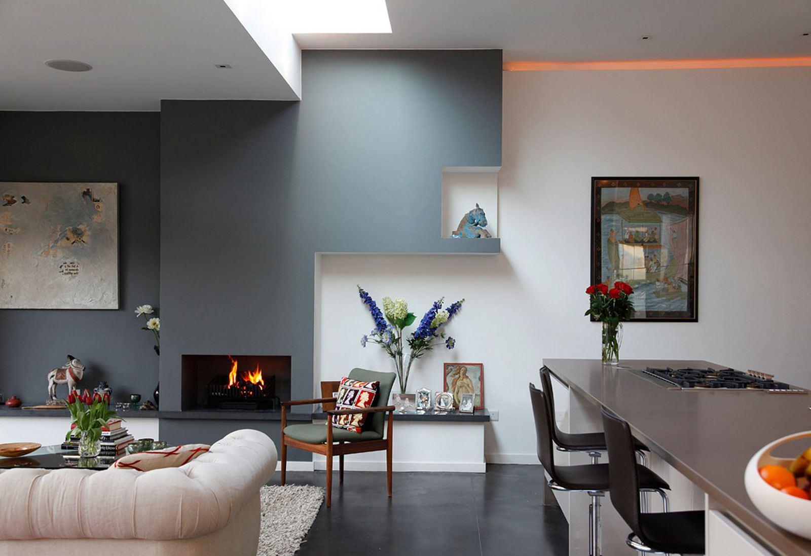 Дизайн кухни гостиной покраска