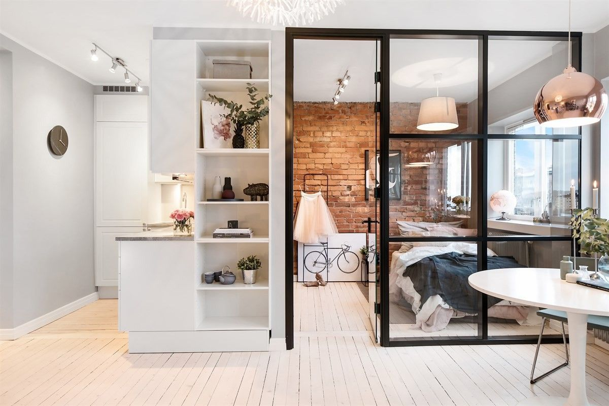 Однокомнатная квартира 40 кв м деревянный пол
