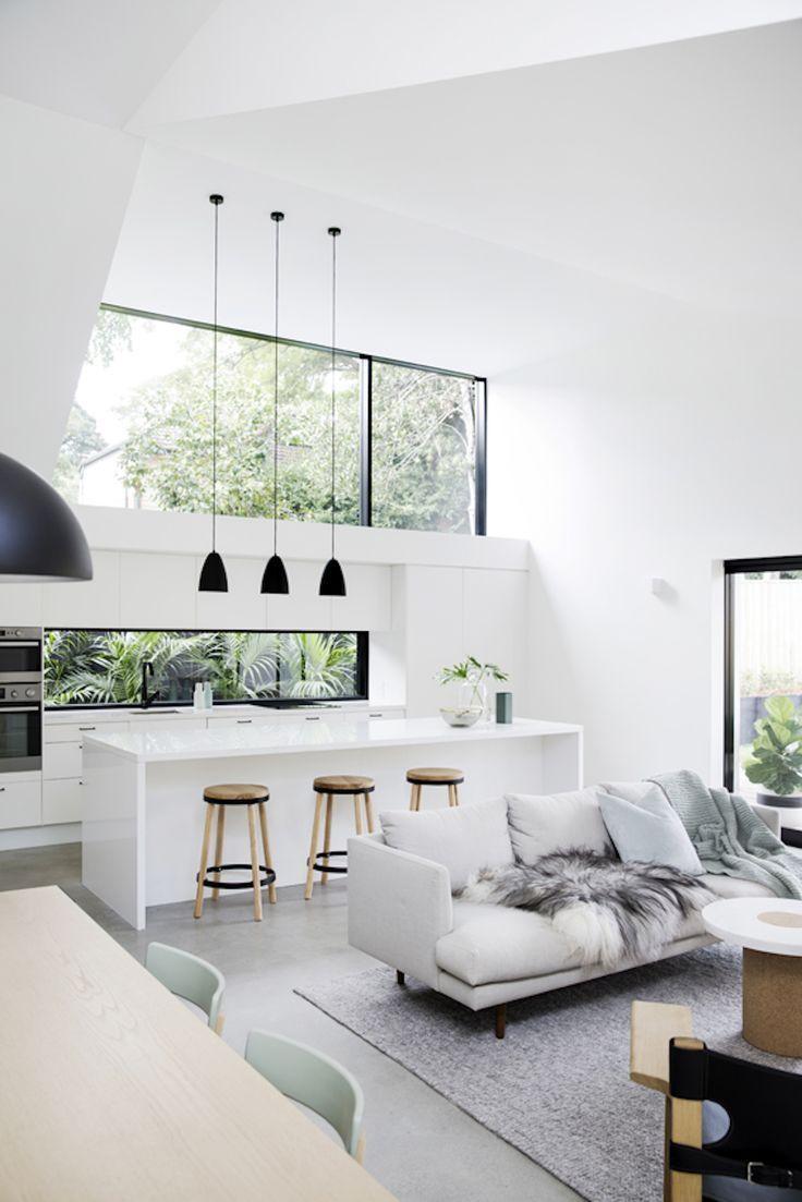 Дизайн кухни гостиной просторной