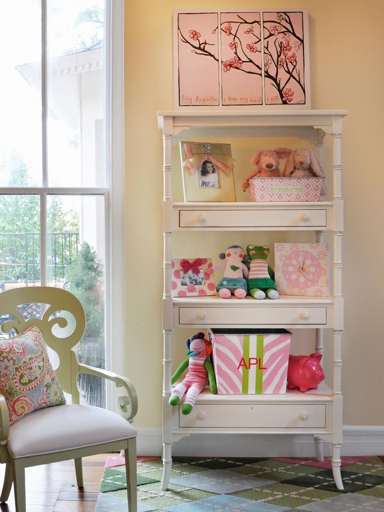 Декор детской комнаты в стиле прованс