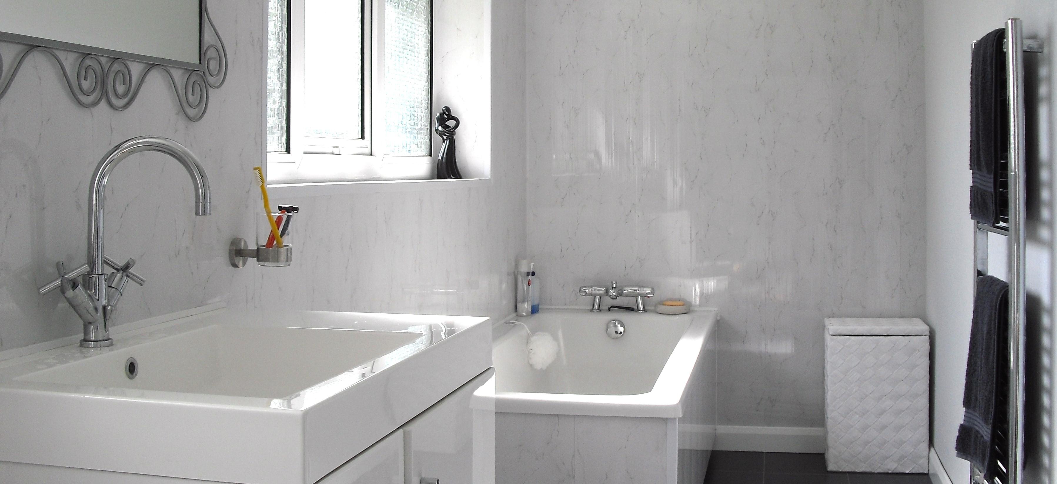 Ремонт туалета панелями ПВХ