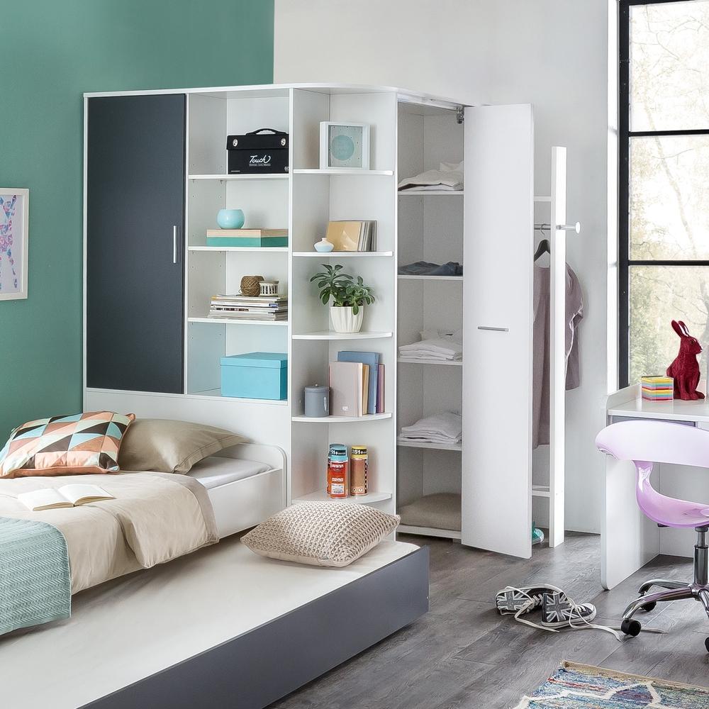 Детская для двоих детей с раскладной кроватью