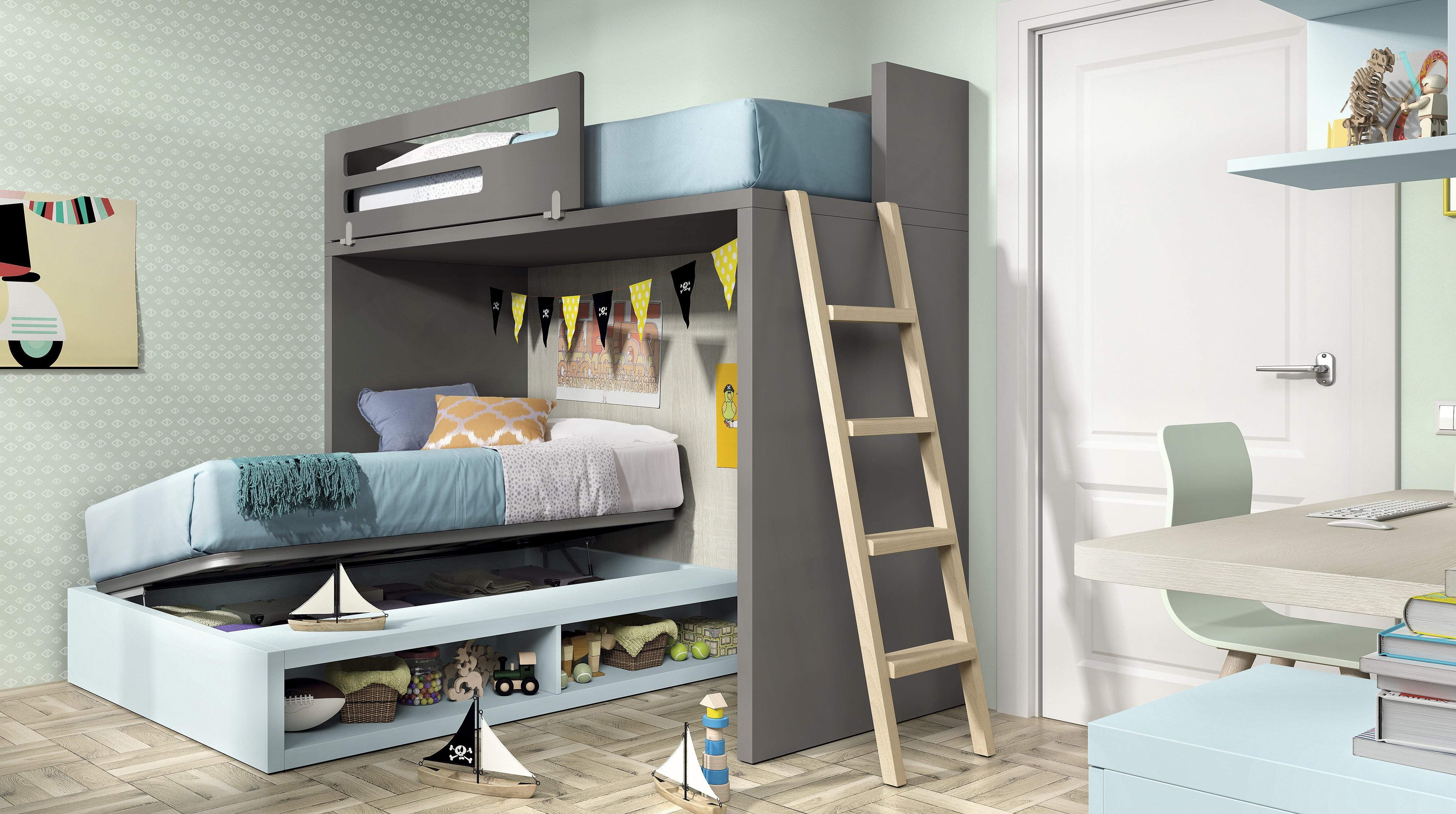 Планировка детской комнаты с раскладной кроватью
