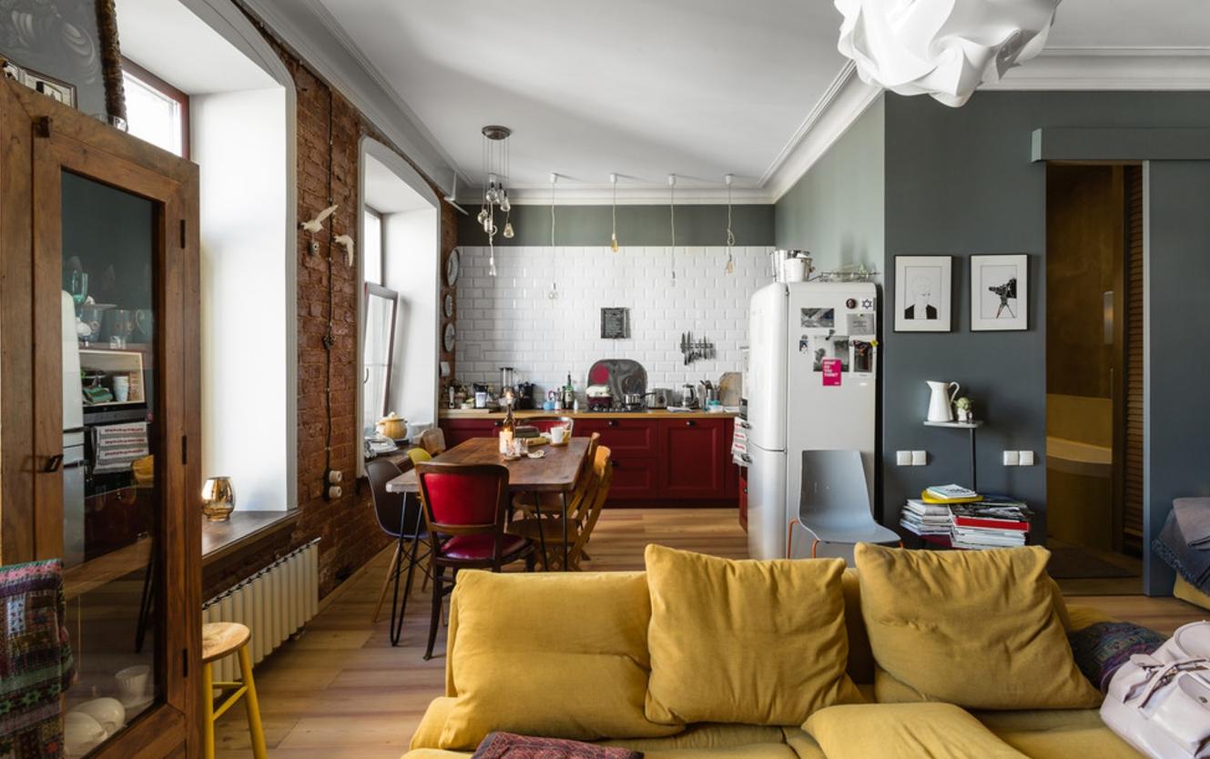 Однокомнатная квартира 40 кв м размещение мебели