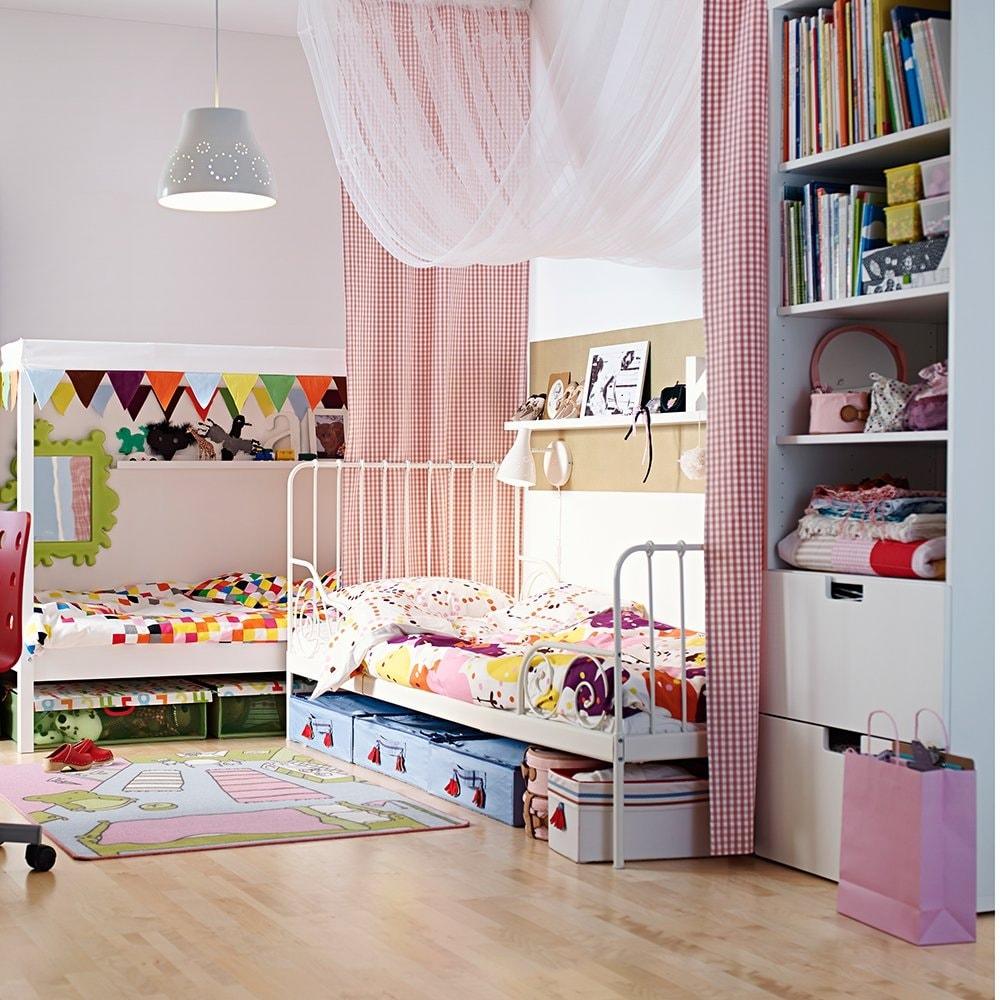 Детская для двоих детей разноцветная