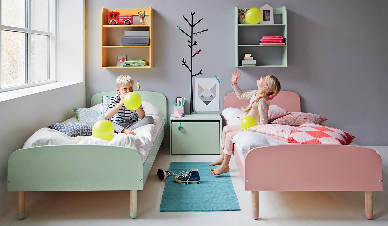 Детская для двоих разнополых детей