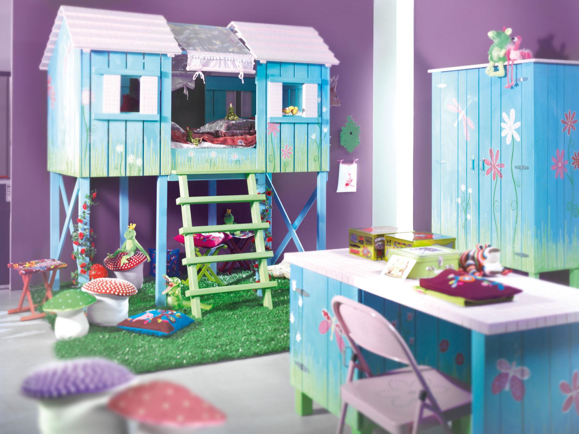 Декор мебели рисунками детской комнаты