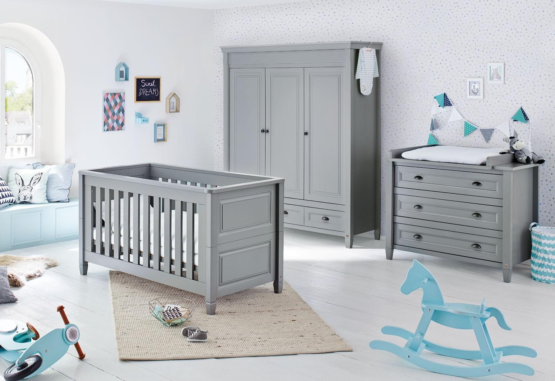 Планировка детской комнаты серой
