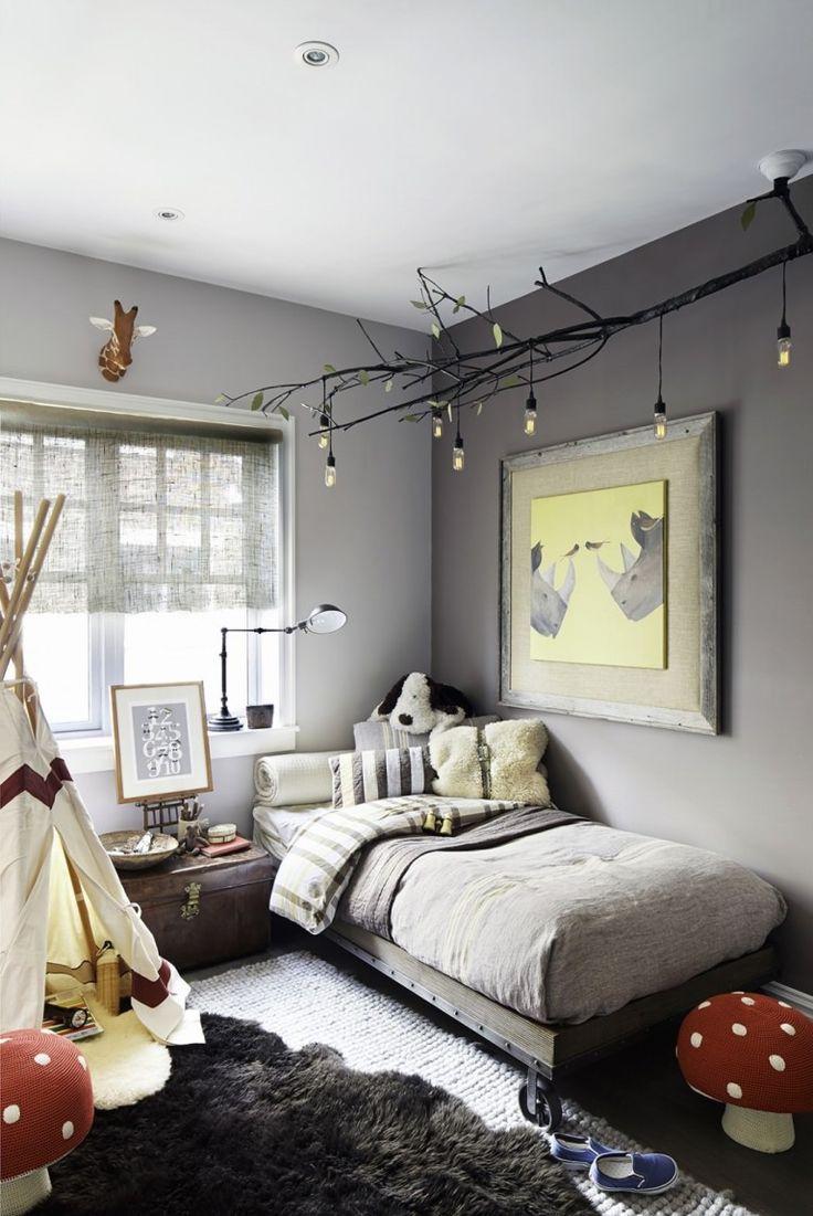 Декор детской комнаты серой