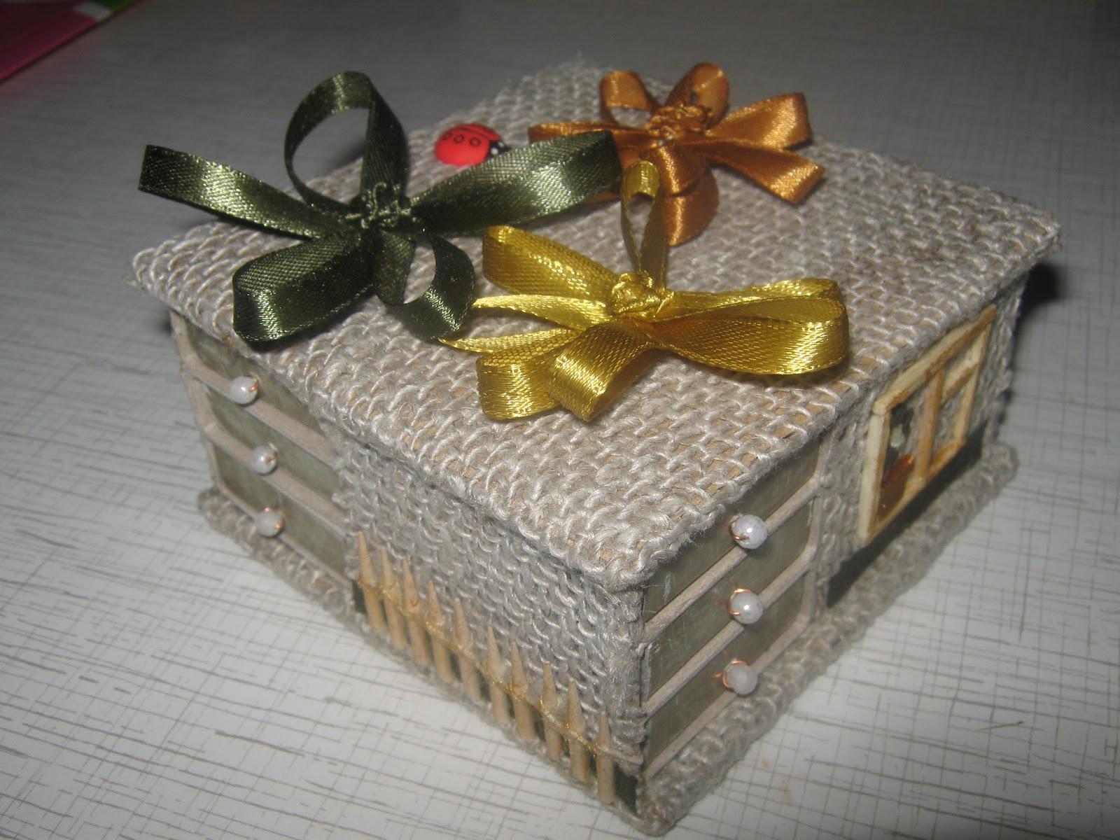 Подарок на 8 марта своими руками шкатулка