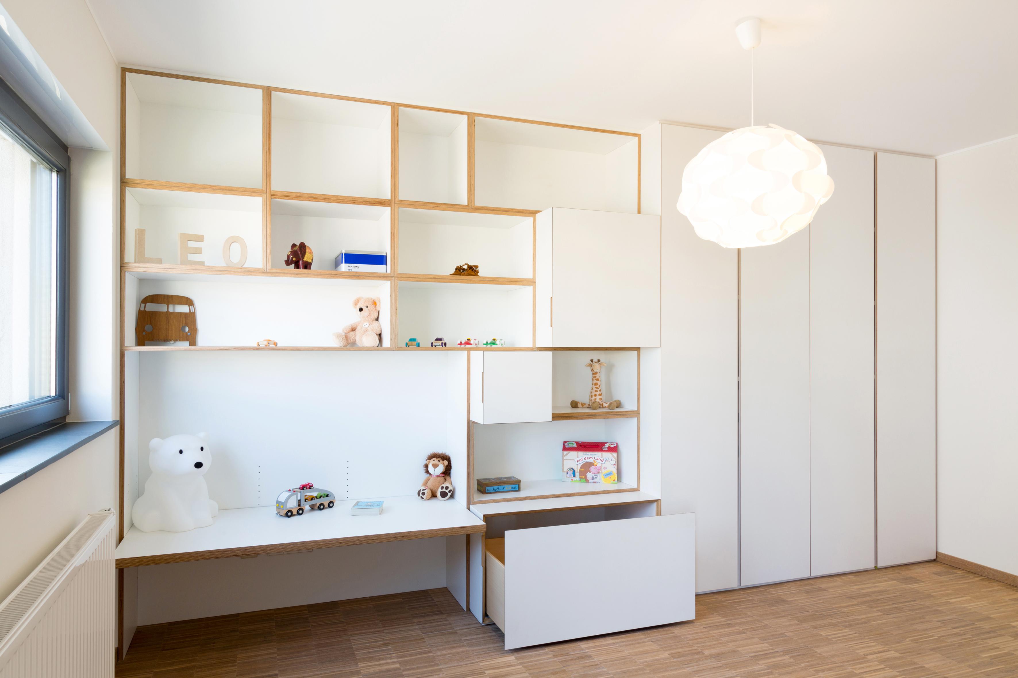 Планировка детской комнаты современной