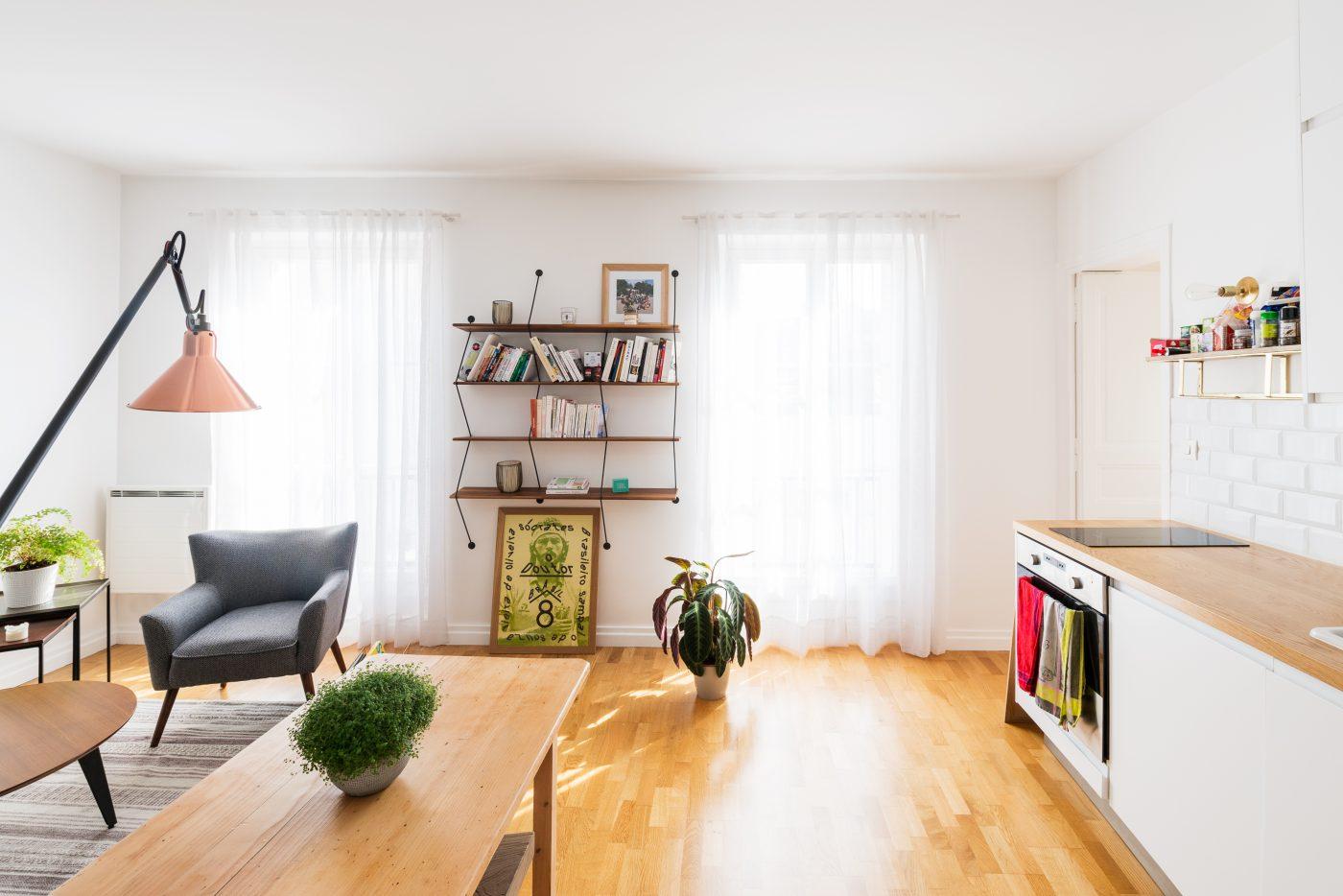 Однокомнатная квартира 40 кв м современная