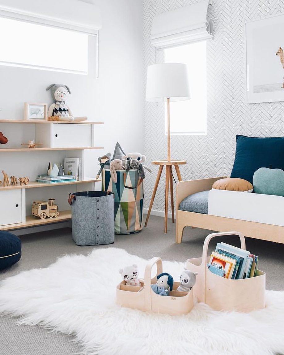 Декор детской комнаты современной